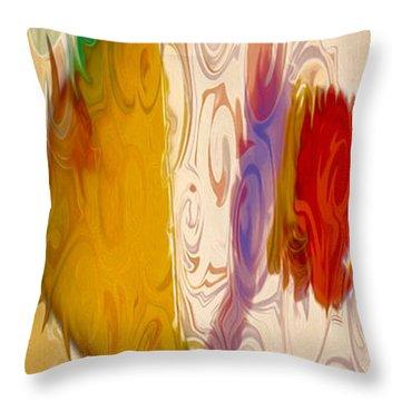 Lady Love II Throw Pillow by Omaste Witkowski