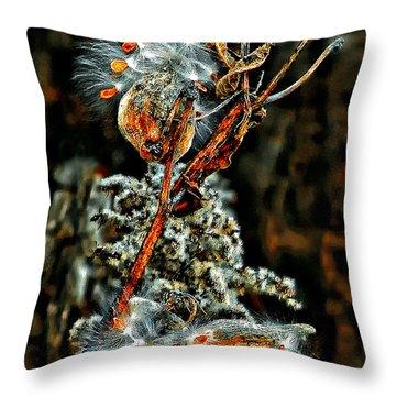 Lady Of The Dance Throw Pillow by Steve Harrington