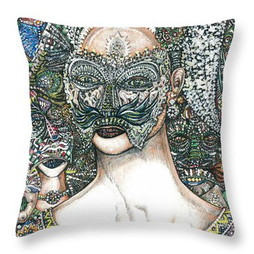 Lady Regina And Friends 3c Throw Pillow
