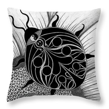 Lady Spirit  Throw Pillow