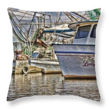Lady Vera Throw Pillow by Scott Pellegrin