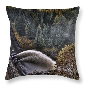 Laggan Dam Throw Pillow