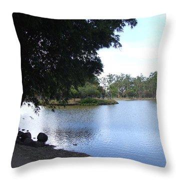 Lago Throw Pillow