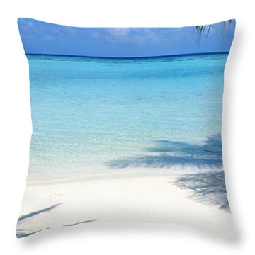 Laguna Maldives Throw Pillow