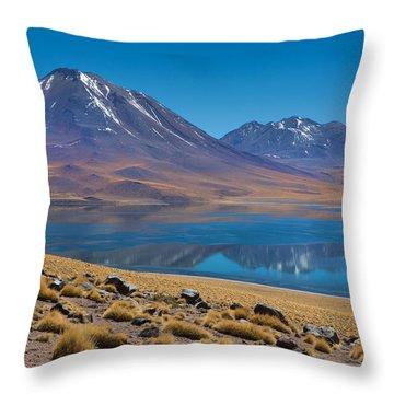 Laguna Miscanti Throw Pillow