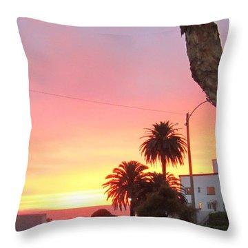 Laguna Sunset 2015 Throw Pillow