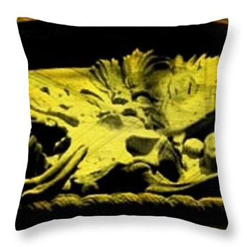Laid To Rest Throw Pillow by John Malone