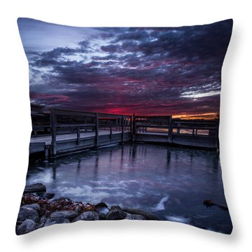 South Dock Throw Pillows