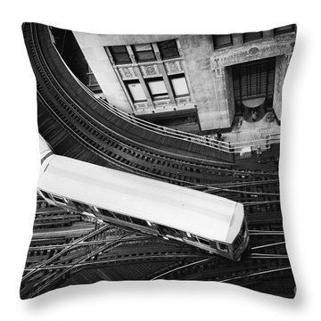 Lake And Wells Throw Pillow
