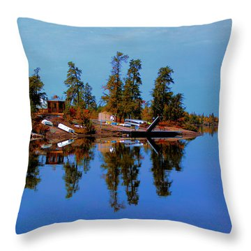 Lake Brereton Throw Pillow