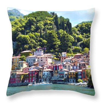 Lake Como - Italy Throw Pillow