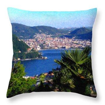 Lake Como Itl7724 Throw Pillow