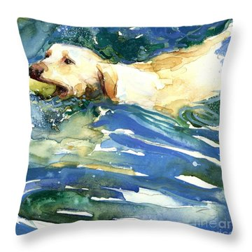 Lake Effect Throw Pillow