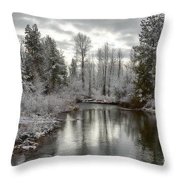Lake Fork Throw Pillow