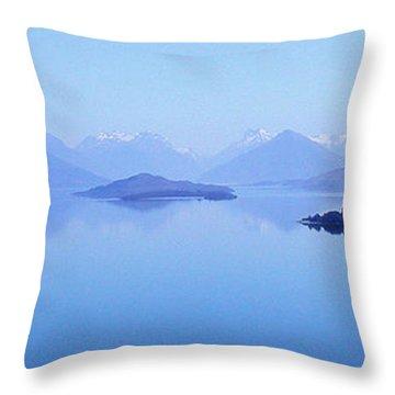 Lake Glenorchy New Zealand Throw Pillow