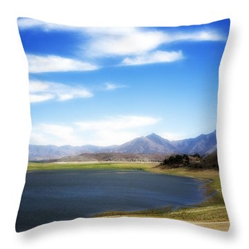 Lake Isabella Throw Pillow