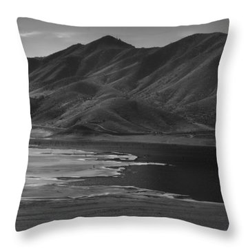 Lake Isabella - Janurary 2015 Throw Pillow