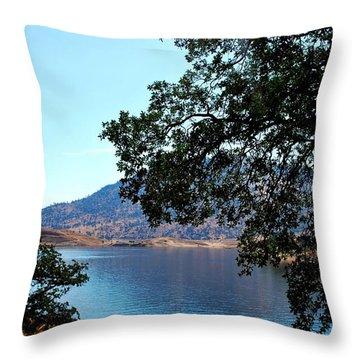 Lake Isabella Throw Pillow by Matt Harang