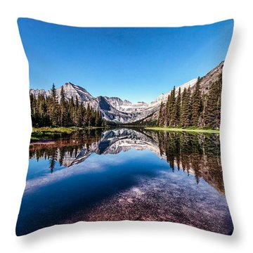 Lake Josephine Throw Pillow