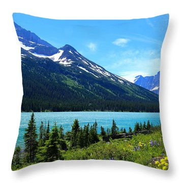 Lake Josephine Throw Pillow