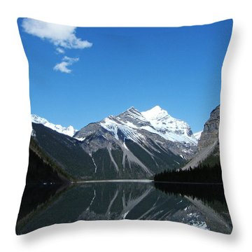 Throw Pillow featuring the photograph Lake Kinney In Spring - Canada by Phil Banks