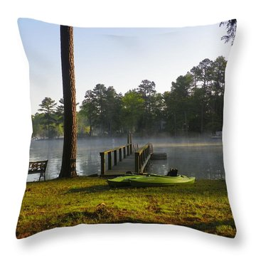 Lake Life Throw Pillow