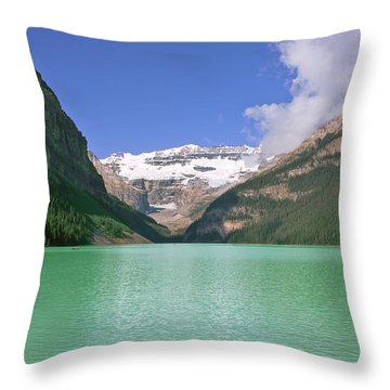 Lake Louise -1 Throw Pillow