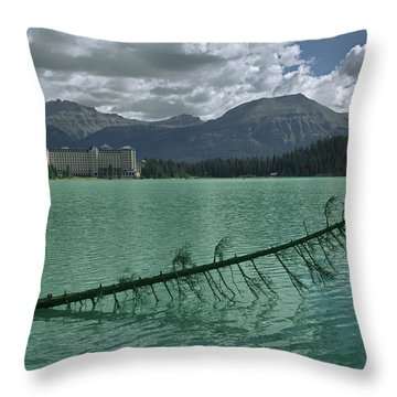 Lake Louise - 2 Throw Pillow
