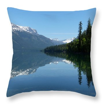 Lake Mcdonald - Glacier National Park Throw Pillow