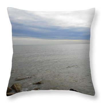 Lake Michigan 3 Throw Pillow