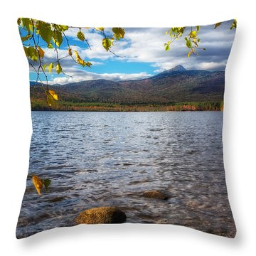 Lake-mt.chocorua Nh Throw Pillow