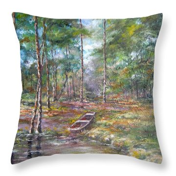 Lake Murray #2 Throw Pillow