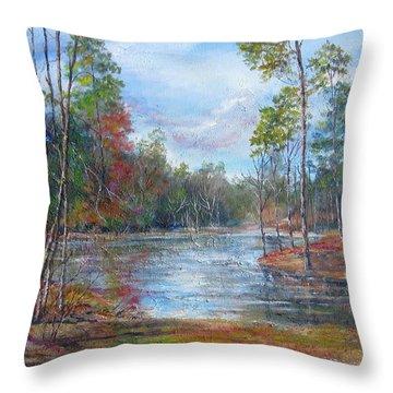 Lake Murray  Throw Pillow