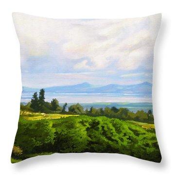 Lake Naivasha From Home Throw Pillow