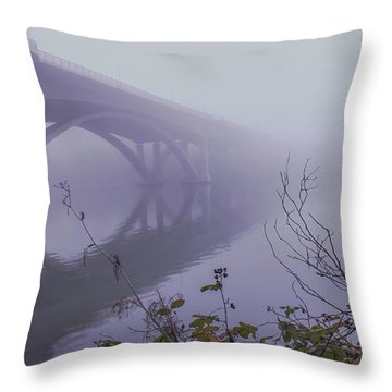 Lake Natoma Crossing Throw Pillow