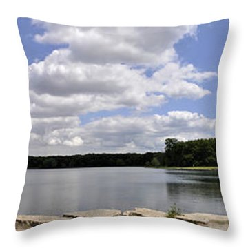 Throw Pillow featuring the photograph Lake Of Dreams by Verana Stark
