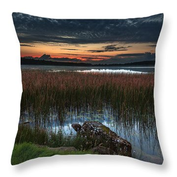 Lake Of The Goddess Throw Pillow by Tim Bryan