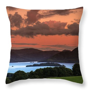 Lake Of The Learned Throw Pillow by Tim Bryan
