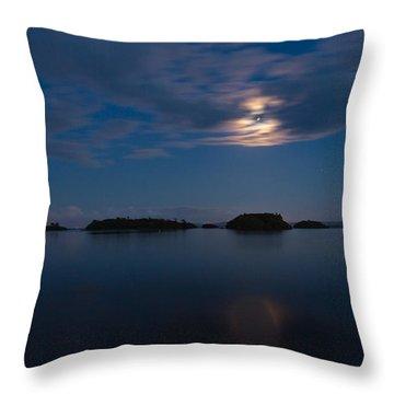 Lake Of The Stranger Throw Pillow by Tim Bryan