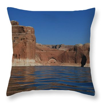 Lake Powell Landscape Throw Pillow by Marty Fancy