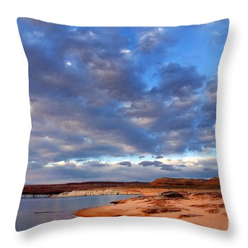 Lake Powell Morning Throw Pillow by Thomas R Fletcher