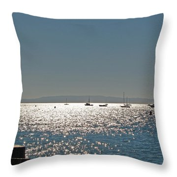 Throw Pillow featuring the photograph Lake Tahoe - California by Haleh Mahbod