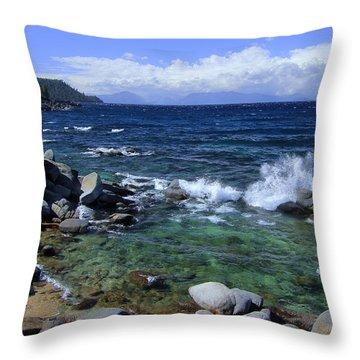 Lake Tahoe Wild  Throw Pillow