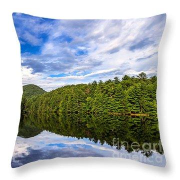 Unicoi Lake Throw Pillow