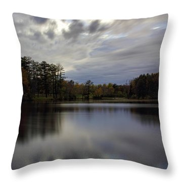 Lake Wausau's Bluegill Bay Park Throw Pillow