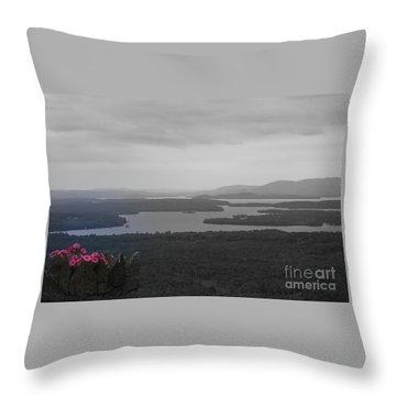 Lake Winnipesaukee      Sold Throw Pillow