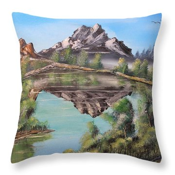 Lakehouse Throw Pillow