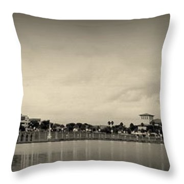 Throw Pillow featuring the photograph Lakeland by Laurie Perry