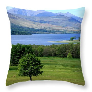 Lakes Of Killarney - Killarney National Park - Ireland Throw Pillow by Aidan Moran