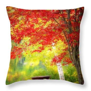 Lakeside Haven Throw Pillow